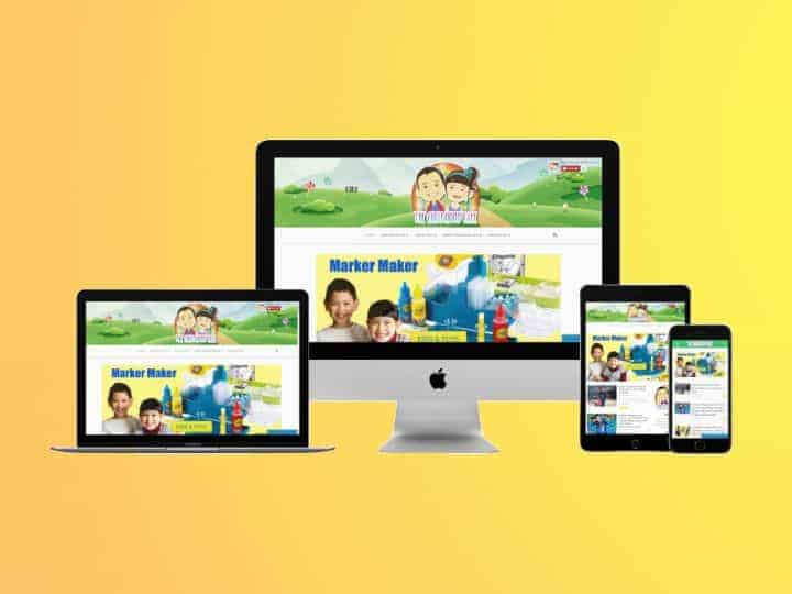 the-childhood-life-imac-macbook-pro-ipad-iphone-multiple-devices-yellow